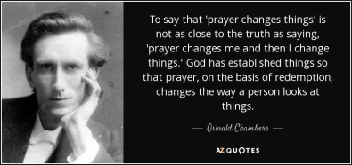 Prayer changes me 4